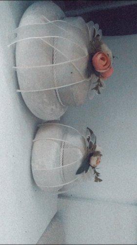 Boucle d'oreille incrustée de pierres or rose-blanc