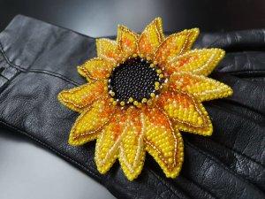 Spilla nero-giallo