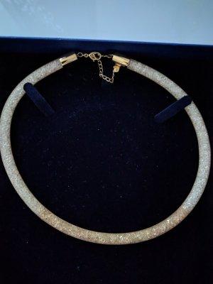 Swarovski Collier Necklace natural white glas