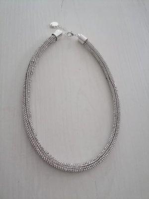 Takko Fashion Collier argento-grigio chiaro