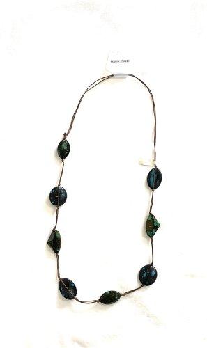 Vintage Collar de conchas multicolor