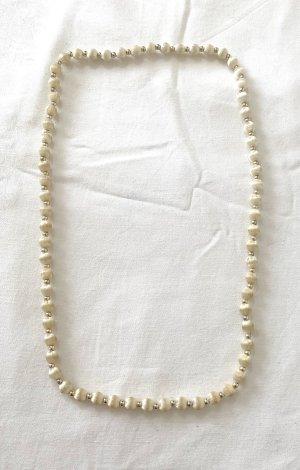 Vintage Naszyjnik z perłami Wielokolorowy