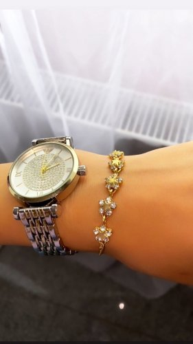 Abendkleid Armband veelkleurig