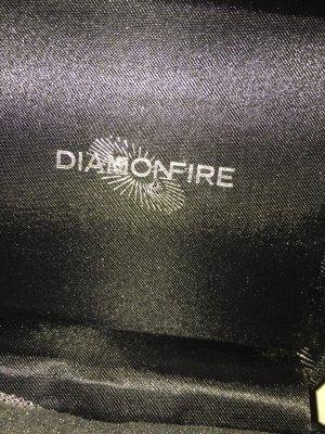 diamonfire Bague en argent blanc