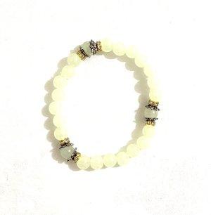 Schmuck Perlen Armreifen elastische Vintage Leuchten