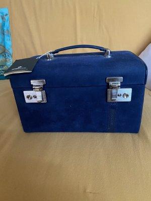 Windrose Koffer donkerblauw