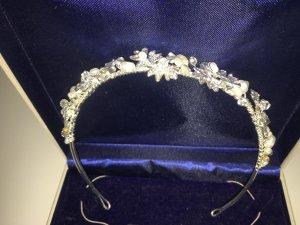 Schmuck Set Diadem Perlen Hochzeit Konfirmation