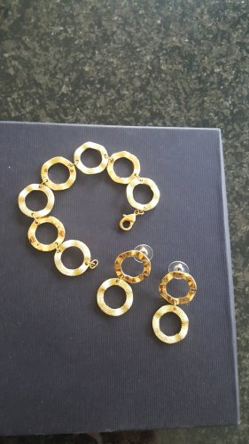 Jewellery Set gold-colored