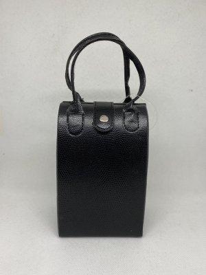 Mini sac noir-blanc cassé