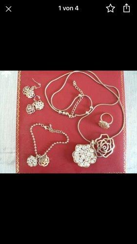 Douglas Jewellery Set gold-colored