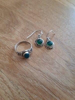 Schmuckset Ohrringe und Ring