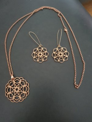 Pierre Lang Jewellery Set rose-gold-coloured