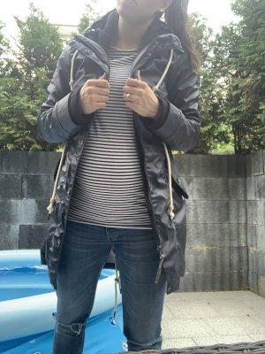 Schmuddelwedda Manteau de pluie bleu foncé