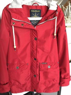 Schmuddelwedda Raincoat red
