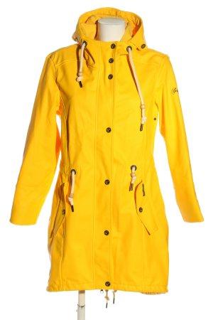 Schmuddelwedda Manteau de pluie jaune primevère style décontracté