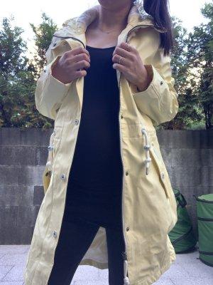 Schmuddelwedda Płaszcz przeciwdeszczowy jasnożółty-żółty
