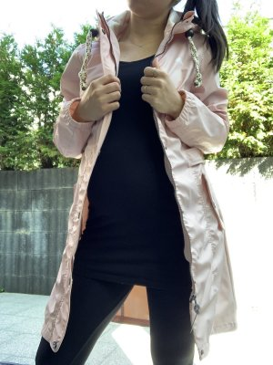 Schmuddelwedda Płaszcz przeciwdeszczowy różowy-jasny różowy