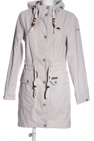 Schmuddelwedda Heavy Raincoat natural white casual look