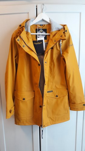 Schmuddelwedda Heavy Raincoat yellow-orange