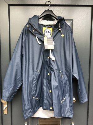 Schmuddelwedda Manteau de pluie bleu foncé polyester