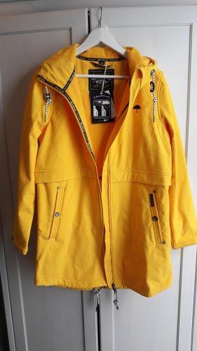 Schmuddelwedda Heavy Raincoat yellow-blue