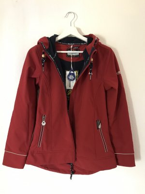 Schmuddelwedda Raincoat carmine-dark red