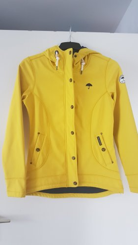 Schmuddelwedda Softshell Jacket yellow