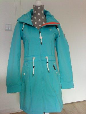 Schmuddelwedda Manteau de pluie magenta-blanc