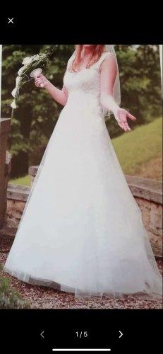 Agnes Bridal Dreams by MODE DE POL Robe de mariée blanc-blanc cassé