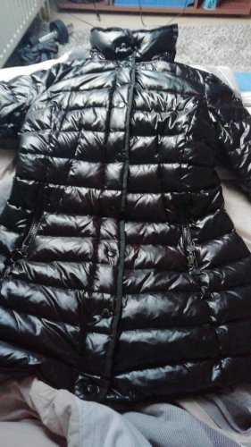 Malvin Abrigo de plumón negro
