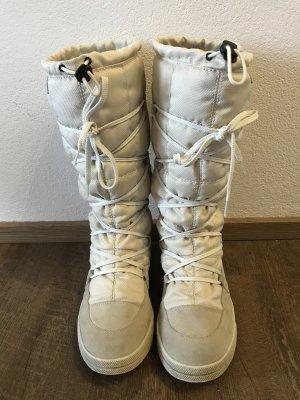 Vibram Buty śniegowe jasnobeżowy-w kolorze białej wełny
