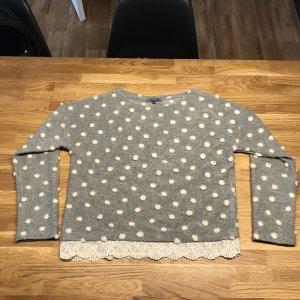 Schneedesign Pullover aus Wolle