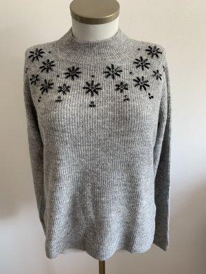 Schneeflocken Pullover