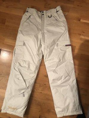 Pantalón de esquí beige claro