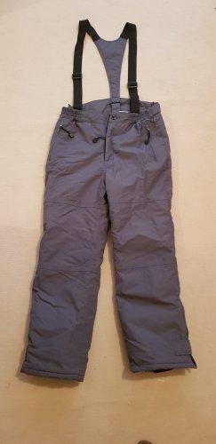 Crane Pantalón de esquí gris oscuro