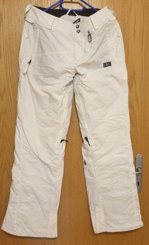 Volcom Pantalón de esquí blanco