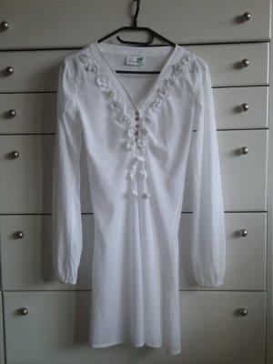 Impressionen Vestito da spiaggia bianco