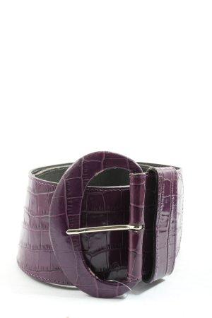 Schneider & Friends Cintura doppia lilla stampa integrale stile casual