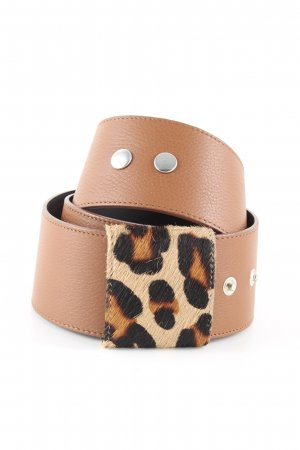 Schneider & Friends Waist Belt leopard pattern business style