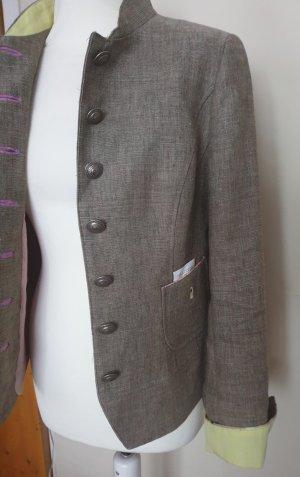 Schneiders Salzburg Short Blazer sand brown-green grey