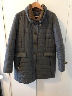 Schneiders Salzburg Duffel Coat grey-brown wool