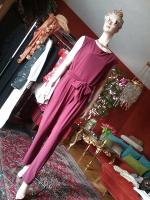 Wallis Jumpsuit purple polyester