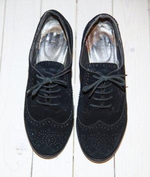 Cafènoir Lace-up Pumps black