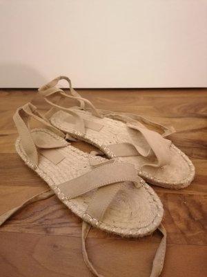 Sandalo romano beige chiaro-beige