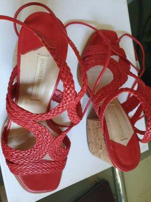Paloma barceló Compensé rouge brique