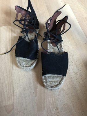 Schnür-Sandalette