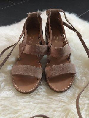 Schnür Sandaletten