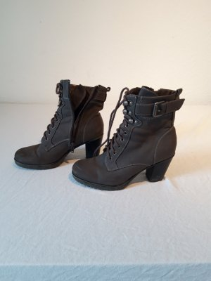 Graceland Lace-up Boots grey brown