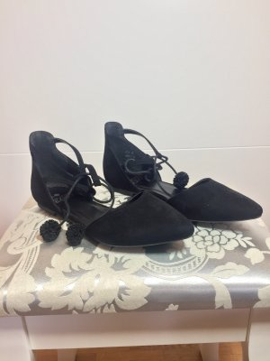 Even & Odd Strappy Ballerinas black