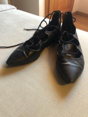 Graceland Strappy Ballerinas black